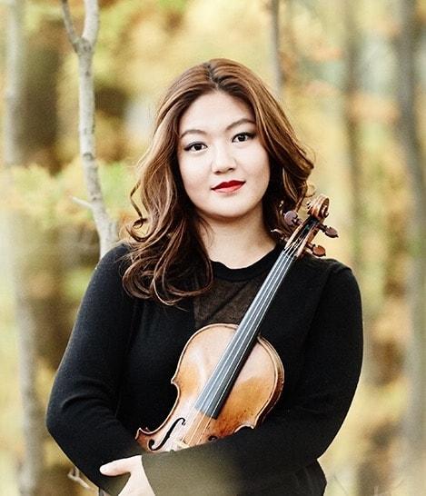 jinjoo cho, violin, season 50, anderson symphony