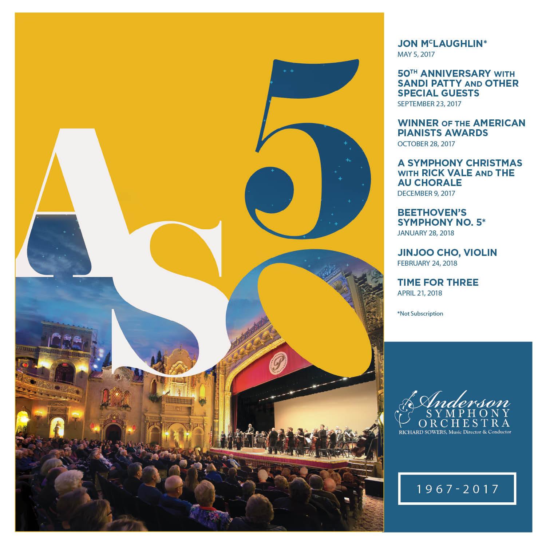50th season, anderson symphony