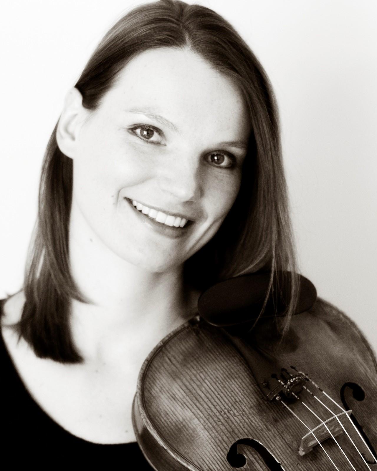 katrin meidell, anderson symphony, orchestra, york hall, aso, viola