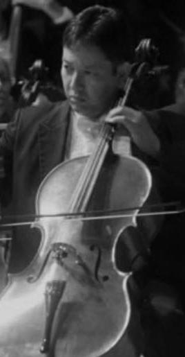 andre gaskins, cello, aso